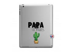 Coque iPad 3/4 Retina Papa Tu Piques