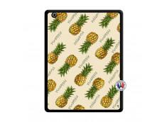 Coque iPad 3/4 Retina Sorbet Ananas Noir