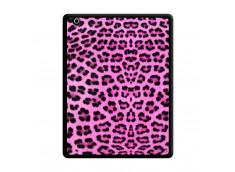 Coque iPad 3/4 Retina Pink Leopard Noir