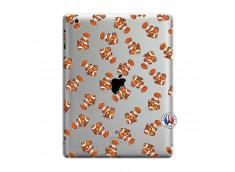 Coque iPad 3/4 Retina Petits Poissons Clown