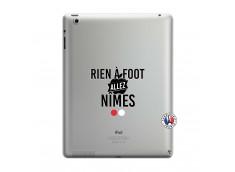 Coque iPad 3/4 Retina Rien A Foot Allez Nimes