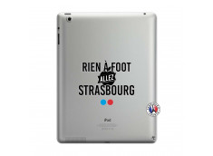Coque iPad 3/4 Retina Rien A Foot Allez Strasbourg