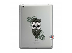 Coque iPad 3/4 Retina Skull Hipster