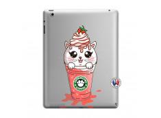 Coque iPad 3/4 Retina Catpucino Ice Cream