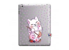 Coque iPad 3/4 Retina Smoothie Cat