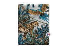 Coque iPad 3/4 Retina Leopard Jungle