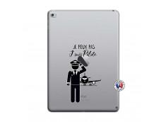Coque iPad AIR 2 Je peux pas j'suis pilote