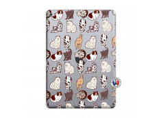 Coque iPad AIR 2 Cat Pattern