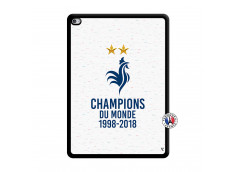 Coque iPad AIR 2 Champion Du Monde Noir