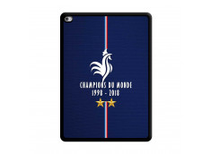 Coque iPad AIR 2 Champions Du Monde 1998 2018 Noire