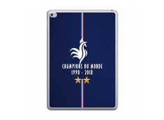 Coque iPad AIR 2 Champions Du Monde 1998 2018 Transparente