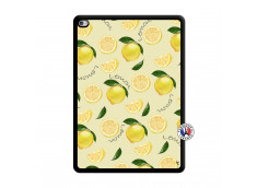 Coque iPad AIR 2 Sorbet Citron Noir