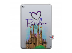 Coque iPad AIR 2 I Love Barcelona