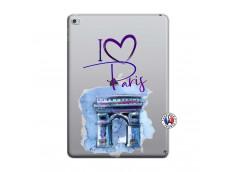 Coque iPad AIR 2 I Love Paris Arc Triomphe