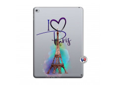 Coque iPad AIR 2 I Love Paris