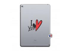 Coque iPad AIR 2 I Love You