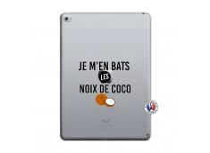 Coque iPad AIR 2 Je m'en bats Les Noix De Coco