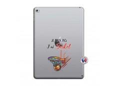 Coque iPad AIR 2 Je Peux Pas J Ai Basket