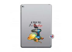 Coque iPad AIR 2 Je Peux Pas J Ai Bricolage