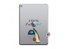 Coque iPad AIR 2 Je peux pas j'ai cricket