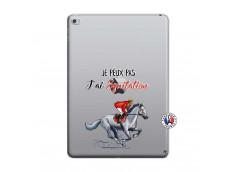 Coque iPad AIR 2 Je Peux Pas J Ai Equitation