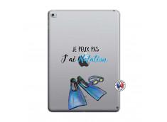 Coque iPad AIR 2 Je Peux Pas J Ai Natation