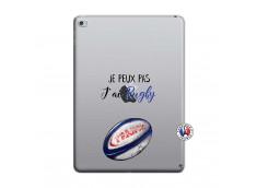 Coque iPad AIR 2 Je Peux Pas J Ai Rugby