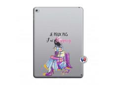 Coque iPad AIR 2 Je Peux Pas J Ai Shopping