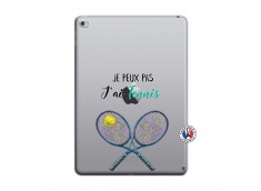 Coque iPad AIR 2 Je Peux Pas J Ai Tennis
