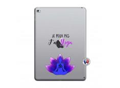 Coque iPad AIR 2 Je Peux Pas J Ai Yoga