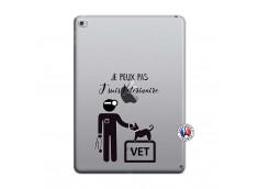 Coque iPad AIR 2 Je Peux Pas Je Suis Veterinaire