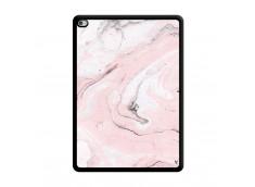 Coque iPad AIR 2 Marbre Rose Noir