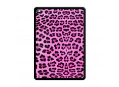 Coque iPad AIR 2 Pink Leopard Noir