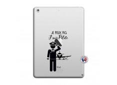 Coque iPad AIR Je peux pas j'suis pilote