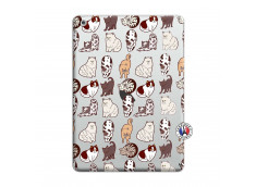 Coque iPad AIR Cat Pattern