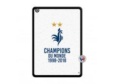 Coque iPad AIR Champion Du Monde Noir