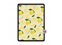 Coque iPad AIR Sorbet Citron Noir