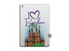 Coque iPad AIR I Love Barcelona