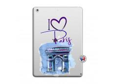 Coque iPad AIR I Love Paris Arc Triomphe