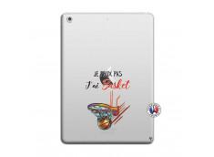 Coque iPad AIR Je Peux Pas J Ai Basket