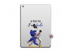 Coque iPad AIR Je peux pas j'ai Judo