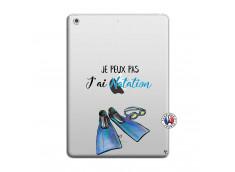 Coque iPad AIR Je Peux Pas J Ai Natation