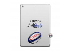 Coque iPad AIR Je Peux Pas J Ai Rugby
