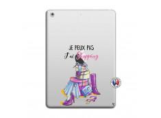 Coque iPad AIR Je Peux Pas J Ai Shopping