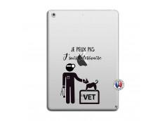 Coque iPad AIR Je Peux Pas Je Suis Veterinaire