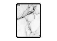 Coque iPad AIR White Marble Noir