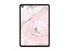 Coque iPad AIR Marbre Rose Noir