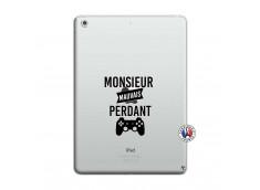 Coque iPad AIR Monsieur Mauvais Perdant