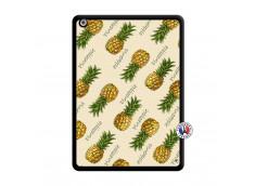Coque iPad AIR Sorbet Ananas Noir