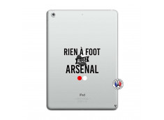 Coque iPad AIR Rien A Foot Allez Arsenal
